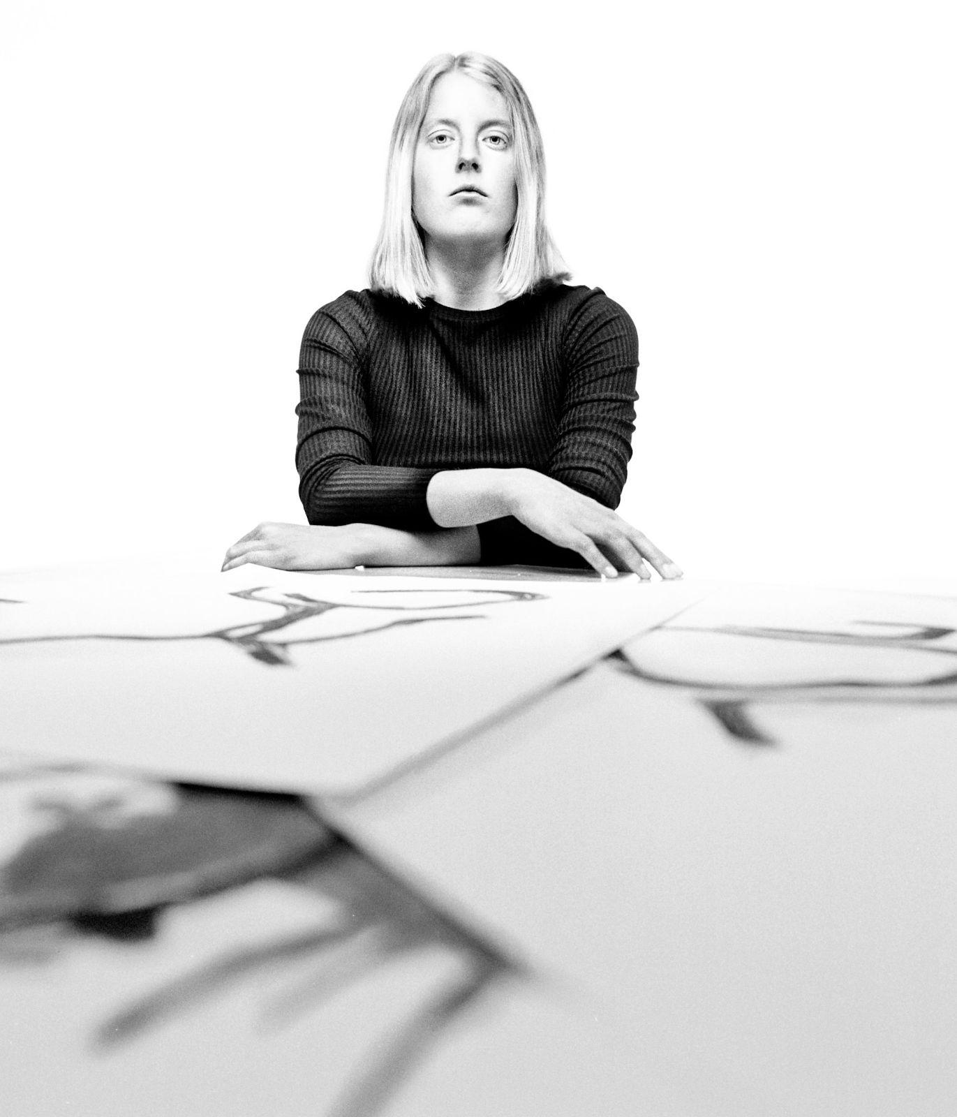 Svea, Künstlerin. © Tilman Köneke